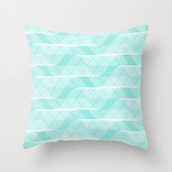 best tiffany blue throw pillow products on wanelo. Black Bedroom Furniture Sets. Home Design Ideas