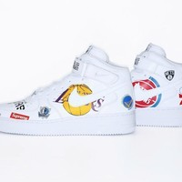 spbest Nike Air Force 1 Mid x SUPREME