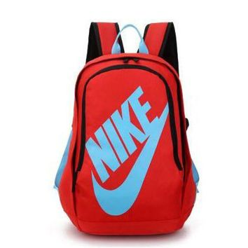 NIKE Fashion Print Sport Shoulder Bag Travel Bag School Backpack