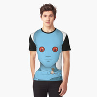 'Fantastic Planet - Om' Graphic T-Shirt by FlyNebula