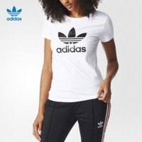"""""""Adidas""""Fashion Casual Pattern Letter Solid Color Short Sleeve T-shirt"""