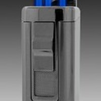 JetLine Houston Triple Torch Lighter (Gun Metal)