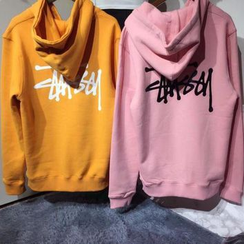 DCCKFC8 Stussy Hoodie Classic Top Sweater Pullover