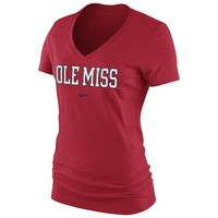 Nike Ole Miss Rebels Tee - Women's, Size: