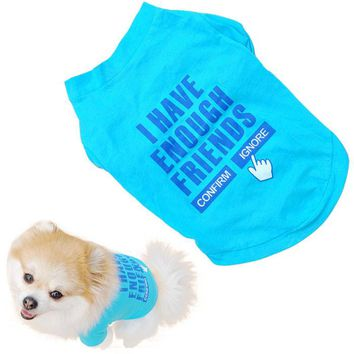 If Only Dogs Could Talk - Cool Doggy T-Shirt Vest