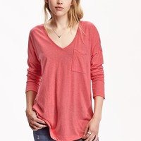 Old Navy V Neck Boyfriend Tees
