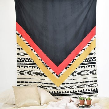 Allyson Johnson Mixed Aztec 2 Tapestry