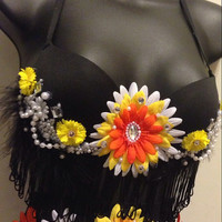 Tribal Aztec (top only)- Rave Wear, Rave, EDC, EDC Outfit, Festival Outfit, Rave Outfit, EDC Outfit