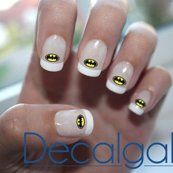 Batman Nail Art Decals Waterslide Paper