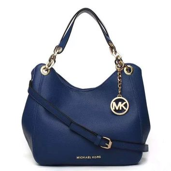 shosouvenir : MK Women Shopping Bag Leather Satchel Tote Shoulder Bag Handbag