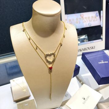 HCXX 19July 393 Swarovski OXO chic love romantic atmosphere magnificent female necklace 5460326