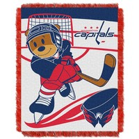 Washington Capitals Baby Jacquard Throw (Cap Team)