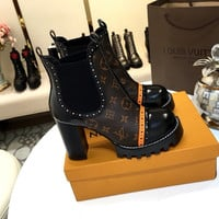 Louis Vuitton LV Star Trail Chelsea Ankle Boot