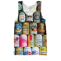 Beer Cans Tank Top