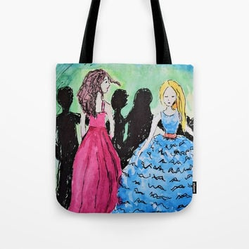The Ball Tote Bag by Mallory Marrs
