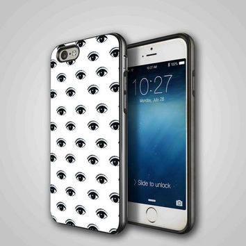 Evil Eye, iPhone 4/4S, 5/5S, 5C Series Hard Plastic Case