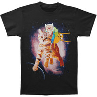 Adventure Time Men's  Cat T-shirt Black Rockabilia