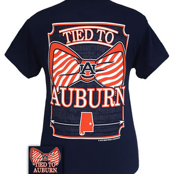 Auburn tigers war eagle women 39 s logo from simply cute tees for Auburn war eagle shirt