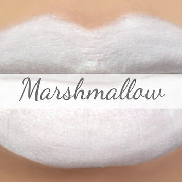 White Lipstick Sample - MARSHMALLOW (white lipstick) natural lip tint, balm, lip colour opaque mineral lipstick