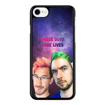 Septiplier The Guys Save Lives  iPhone 8 Case