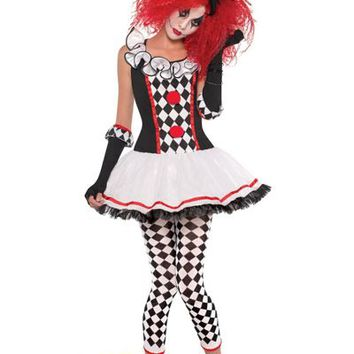 Teen Girls Harlequin Honey Costume- Party City