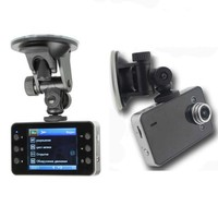 2.4 Size Full HD Car Dashboard Camera Driving Recorder TV Night Security K6000 DVR Automatic Loop Recording