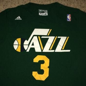 Sale!! Vintage Adidas UTAH JAZZ Basketball Shirt NBA Jersey
