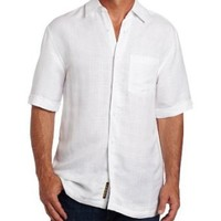 Cubavera Men`s Short Sleeve Textured Shirt $42.93 - $58.00