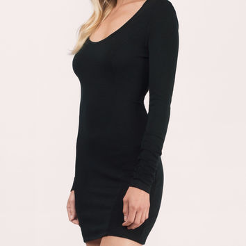 Back To Sexy Scoop Back Mini Bodycon Dress
