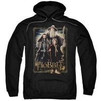 THE-HOBBIT-THE-THREE-ADULT-PULL-OVER-HOODIE-BLACK