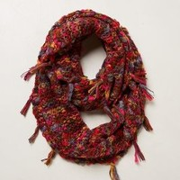 Marled Fringe Infinity Scarf by Anthropologie Assorted One Size Scarves