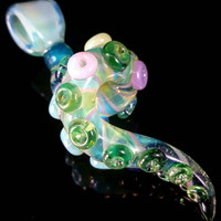 Wildfire Glass Candy Series Tentacle Pendant Number 7