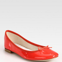 Patent Leather Ballet Flats - Zoom - Saks Fifth Avenue Mobile