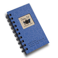 Dining Out - A Restaurant Mini Journal- Blue