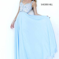 Sherri Hill 8552 Chiffon Prom Dress