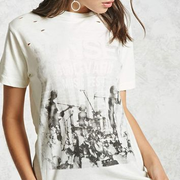 Distressed Sunset Boulevard Tee