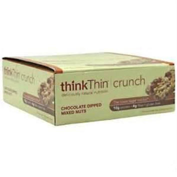 Think Thin Crunch Chocolate Dipped Mixed Nuts (10x1.41 Oz)
