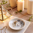 Plum & Bow Monogram Trinket Catch-All Dish - Urban Outfitters
