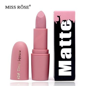 Miss Rose Brand Beauty Matte Moisturizing Lipstick Makeup Lipsticks Lip Stick Waterproof Lipgloss Mate Lipsticks Cosmetic