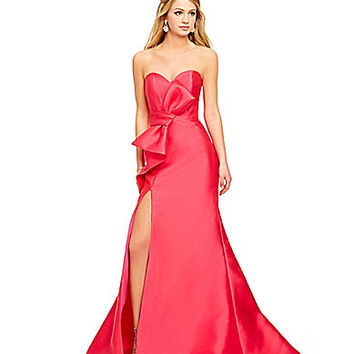 Savannah Nights Bow Front Gown | Dillards.com