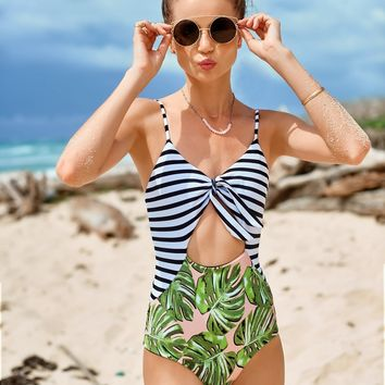 Palm Leaf One Piece