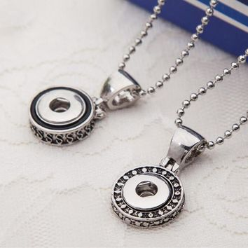 Interchangeable Pendant Necklaces