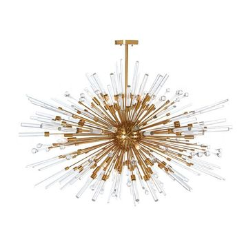 Buy Goliath Star Chandelier in Antique Brass design by Aidan Gray Online at Burkedecor – BURKE DECOR