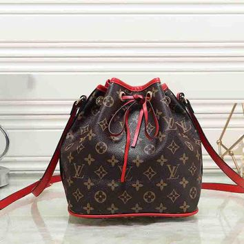 Louis Vuitton New Fashion Women Leather Shoulder Bag Handbag Backpack