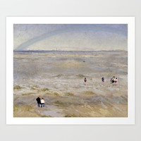 Coastal scene Art Print by anipani