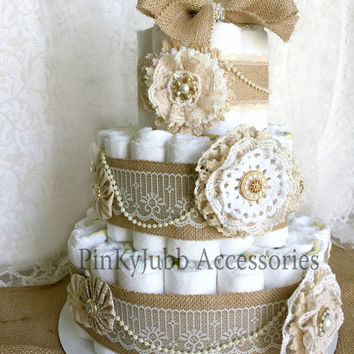 Shabby Chic Wedding Cake Ideas
