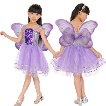 Halloween  Costume  Butterfly  Fairy  Skirt  Colorful