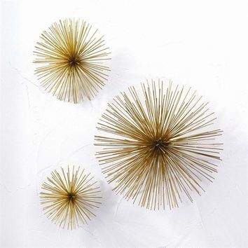 Wall Flowers Wall Art- Set of 3