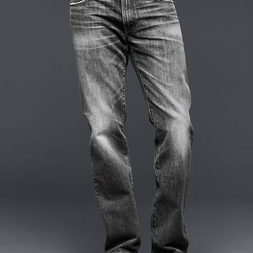 Gap Men 1969 Straight Fit Jeans Pavement Wash