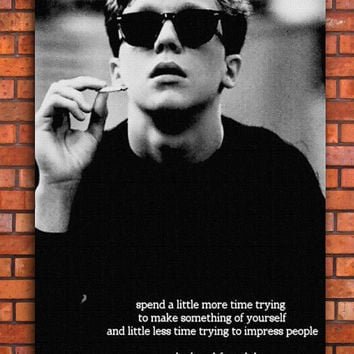 The Breakfast Club Quote Canvas Art Print A1 A2 A3 A4